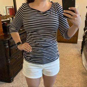 Striped H&M top